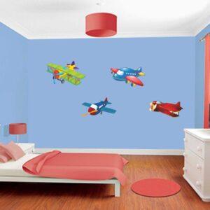 """Παιδικό αυτοκόλλητο Αγόρι """"Αεροπλάνα"""""""