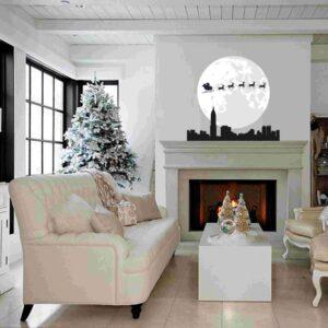 """Εποχιακά Χριστούγεννα """"Το έλκυθρο πάνω από την πόλη"""""""