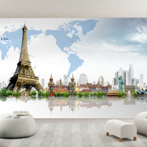 """Ταπετσαρία τοίχου Φωτοταπετσαρία """"World"""""""