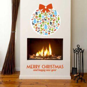 """Εποχιακά Χριστούγεννα """"Χριστουγεννιάτικη μπάλα"""""""