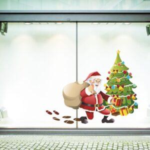 """Εποχιακά Χριστούγεννα """"Άγιος Βασίλης στο δέντρο """""""