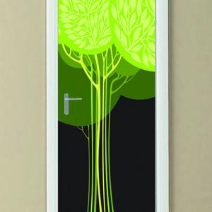 """Αυτοκόλλητο Πόρτας """"Δέντρο"""""""