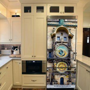 """Αυτοκόλλητο Ψυγείου """"Αστρονομικό Ρολόι της Πράγας"""""""