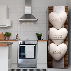 """Αυτοκόλλητο Ψυγείου """"Dream - Love - Hope"""""""