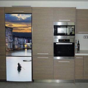 """Αυτοκόλλητο Ψυγείου """"Γόνδολα στη Βενετία"""""""