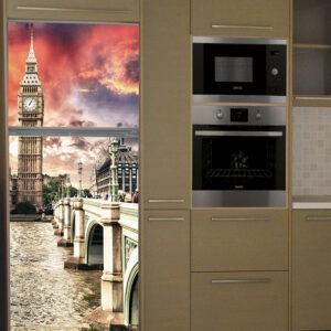 """Αυτοκόλλητο Ψυγείου """"London Big Ben"""""""