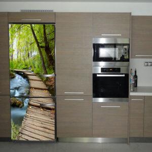 """Αυτοκόλλητο Ψυγείου """"Βόλτα στο δάσος"""""""