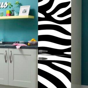 """Αυτοκόλλητο Ψυγείου """"Ζέβρα"""""""