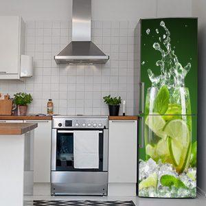 """Αυτοκόλλητο Ψυγείου """"Lime"""""""