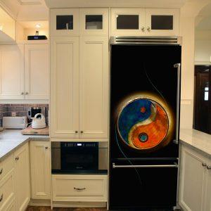 """Αυτοκόλλητο Ψυγείου """"Yin - Yang"""""""