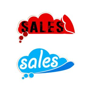 """Αυτοκόλλητο Εκπτώσεων """"Sales"""""""