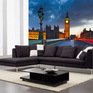 """Ταπετσαρία τοίχου Φωτοταπετσαρία """"Λονδίνο"""""""