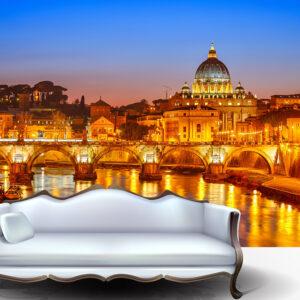 """Ταπετσαρία τοίχου Φωτοταπετσαρία """"Ρώμη"""""""