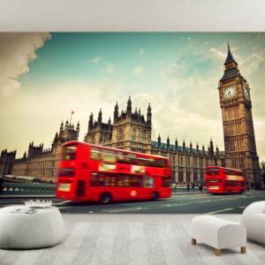 """Ταπετσαρία τοίχου Φωτοταπετσαρία """"London"""""""