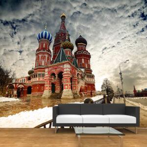"""Ταπετσαρία τοίχου Φωτοταπετσαρία """"Μόσχα"""""""